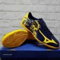 Sepatu Futsal Mizuno Ryuou Navy Yellow P1GF 179045 Original