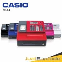 CASH REGISTER CASIO SE-G1 - MESIN KASIR MURAH CASIO SEG1 - PINK -
