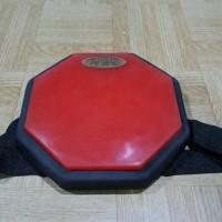 Pad Drum 6 Practice Pad Neats Merah