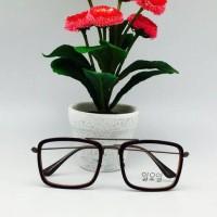 Paket Frame Kacamata LEE KOREA + Lensa Minus Antiradiasi
