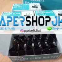 GROSIR!!! Joyko Binder Clip No. 155 / Penjepit 32 mm (12 pcs)
