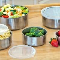 Rantang Stainless Steel 5 Set - Protect Fresh Box - Wadah Makanan