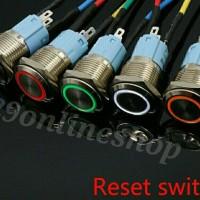 push button momentary switch on tombol saklar led starter mobil motor
