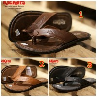 SANDAL PRIA CASUAL TRENDY KICKERS CLASSIC CONCEPT GENUINE LEATHER