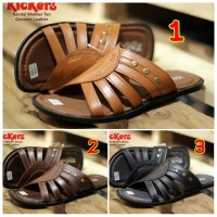 SANDAL PRIA CASUAL TRENDY KICKERS WEBBER CONCEPT GENUINE LEATHER