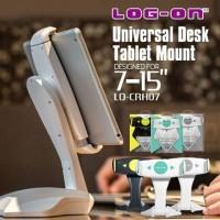 """Log On UNIVERSAL DESK HOLDER Tablet IPAD TAB MOUNT 7 - 15 """""""