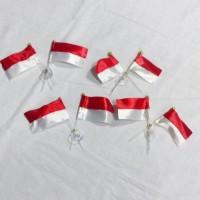 Bendera merah putih indonesia | aksesoris ceplok | kualitas | termurah