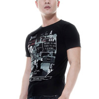 jual Raofe Wonder of The World Standard Men T-shirt Kaos Distro Pria H