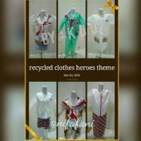 Baju Daur Ulang/ Tema Pahlawan/ Anak