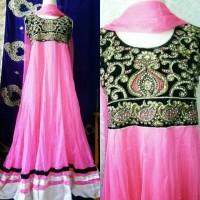 baju india/ anarkali/ busana muslim/ baju pesta