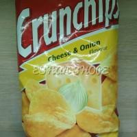 Lorenz Crunchip chesse & Onion/ snack kentang 100 Gr