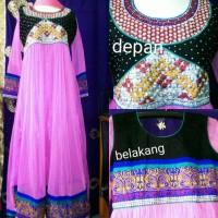 abaya india ori/ gamis/baju india/ anarkali/ busana muslim/ baju pesta