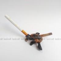 Pipa Rokok Unik dari Bambu