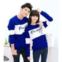 Sweater Pusple Neo Benhur White