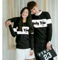 Sweater Only You Black White