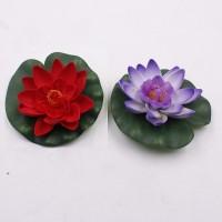 eva mat floating lotus flower bunga teratai apung 10 cm