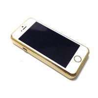 Korek Api Elektrik USB Iphone - white Gold