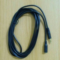 KABEL AUDIO EXTENTION JACK 3.5 MALE TO FEMALE 5 M (GOLDPLATED)