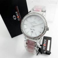 Jam Tangan Wanita / Cewek Hegner 402 Pink Silver