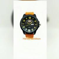Jam tangan pria HARLEY DAVIDSON(swis army,alexandre,dw,casio,fosill,gc