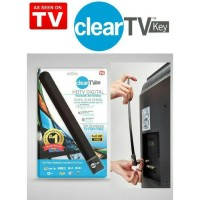 Antena TV Digital Indoor, HDTV, DVB-T2 Digital, Clear TVkey