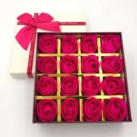 Premium Box Bunga Mawar Flower Rose/Bunga Sabun Gift Kado Souvenir Lux