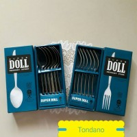 Sendok Garpu Makan/Super Doll