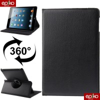 CASE New iPad (iPad 3 & iPad 2) / Smart Cover Kulit 360 Derajat
