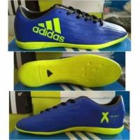 (BONUS KAOS KAKI)Sepatu futsal adidas x techfit messi (komponen ori)