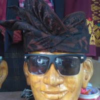 udeng batik khas bali semi tulis