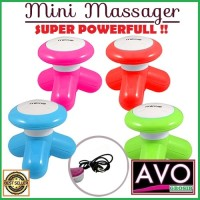 pemijat portable - mini strong massager - mimo superlife (New)