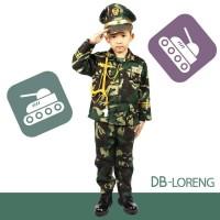 SERAGAM PROFESI ANAK LAKI LAKI Tentara ABRI / BAJU ABRI Db Loreng 628