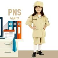 SERAGAM PROFESI ANAK PNS PEREMPUAN / Baju Profesi Anak Pns Rok 636