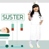 Baju Seragam Profesi Anak Perempuan Perawat Suster Cilik Putih 625