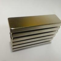 Magnet Silver NdFeB Neodymium Batang Bar Super Kuat