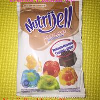 20gr tepung serbuk agar jelly NUTRIJELL nutrijel COKLAT chocolate