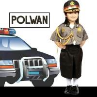 SERAGAM PROFESI ANAK PEREMPUAN POLWAN / Baju Anak Polisi Rok 601