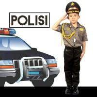 SERAGAM PROFESI ANAK LAKI POLISI / POLISI CILIK LAKI LAKI CELANA 602
