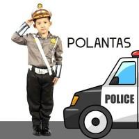 SERAGAM PROFESI ANAK LAKI POLANTAS / POLISI CILIK ANAK POLANTAS 603