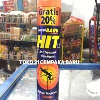 Hit Aerosol Spray Orange Kaleng 600ml | Anti Nyamuk Kecoa 600 ml Murah