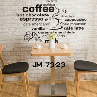 Wall Stiker Uk.60x90 Wall Sticker Quotes Coffee Hiasan Dinding Kafe