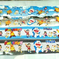Border List Wall Sticker Doraemon