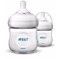 Philips Avent SCF690/27 Natural Bottle Botol Susu 125ml isi 2 - PMA118