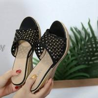 sandal wedges kelsey batik a778-35