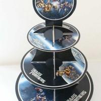 Cupcake stand Tranformers / Cupcake 3 tier Transformers bumblebee