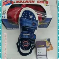 TOKO LEONY sandal gunung anak homy ped captain 02 +free mainan tembak