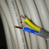 kabel listrik SNI merek ETERNA jenis kawat tembaga isi 3 NYM 3 X 1,5mm