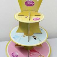 Cupcake stand princess disney / Cupcake 3 tier Princess disney custom