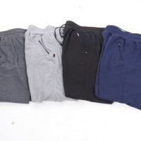 [Paket 3pcs] Celana panjang jogger button / Super quality / 4 warna