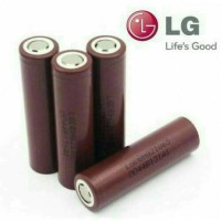 baterai/ batere vape LG HG2 18650 original 3000mah (not awt, sony vtc)